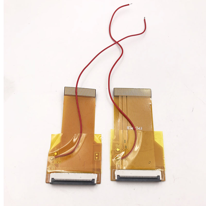 For <font><b>GameBoy</b></font> <font><b>Advance</b></font> GBA Ribbon Cable 32pin 40 Pin <font><b>AGS</b></font> <font><b>101</b></font> Backlit Adapter Screen Mod W/ Cable image
