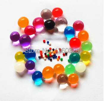 Novelty Home Decoration Water Beads Pearl bio gel Hydrogel Crystal Ball Soil Wedding Table Centerpieces Christmas Free Shipping