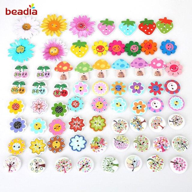 Item Baru 80 Pcs Colorful Acak Campuran Bungastrawberrypohon