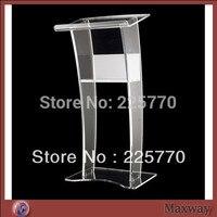 church acrylic podium/Free Shipping Beautiful Easy Cheap Detachable Acrylic Podium Pulpit Lectern