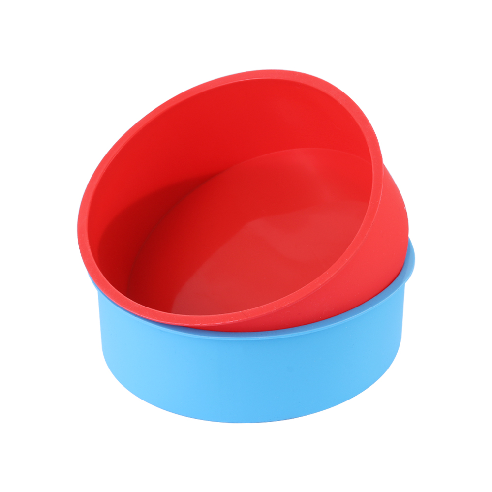 6inch Silicone Reusable and Non Stick Bakeware in Round Shape used for Cooking Confectionery Recipes with Decoration 5