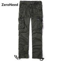 2017 новое поступление, брюки-карго, Мужские штаны, Pantalon Cargo Hommes, повседневные штаны для бега, Мужская рабочая одежда, длинные брюки, хлопковые ...