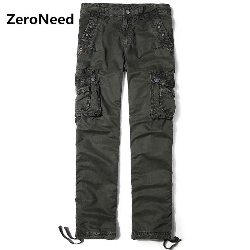 2017 New Arrival Cargo Pants Men Pant Pantalon Cargo Hommes Casual Pantalones Jogger Men Work Wear Long Trousers Cotton Pant 89