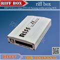 100% оригинал RIFF BOX Jtag Для HTC, SAMSUNG, Huawei Riff Box Unlock & Вспышка & Ремонт С 2 шт. плоские кабели