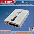 100% original RIFF BOX Jtag Para HTC, SAMSUNG, Huawei Riff Caja de Desbloqueo de Flash & Repair Con 2 unids cables planos