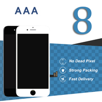 5pcs For IPhone 8 LCD Display With 3D Touch 4 7 Inch Black White Screen Digitizer