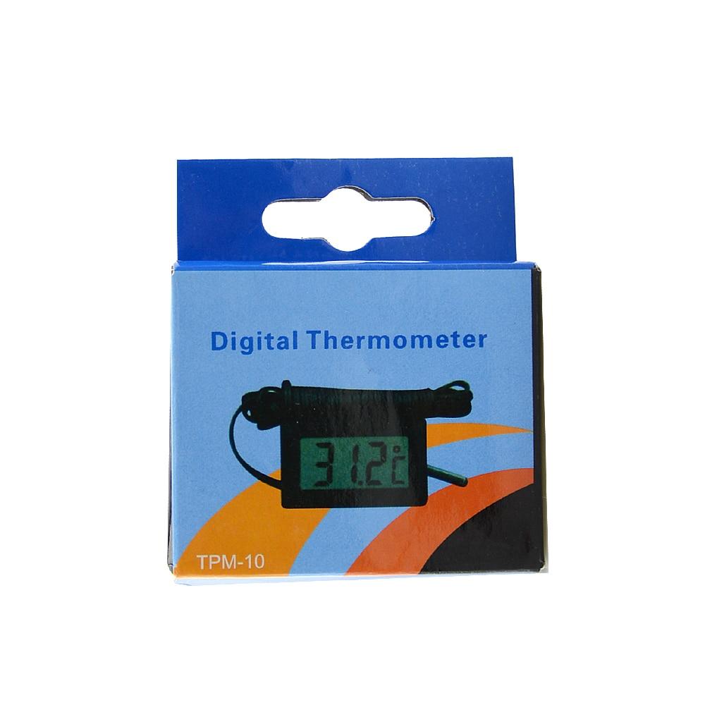 water temperature digital lcd thermometer Aquarium / probe ...