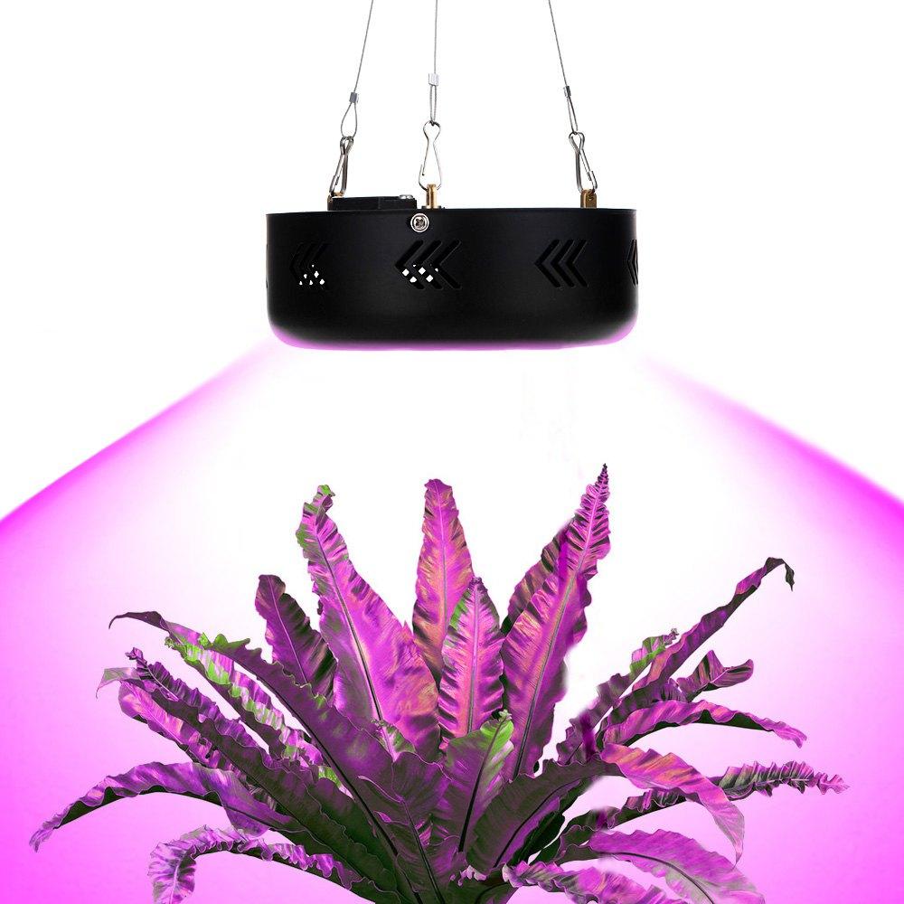 High Power LED Grow Light 150W Mini UFO LED Plant Grow Light Sanan Emitting Diode 50 LEDs Brightness LED Bulbs Black/White diy 5mm led light emitting diode set 50pcs