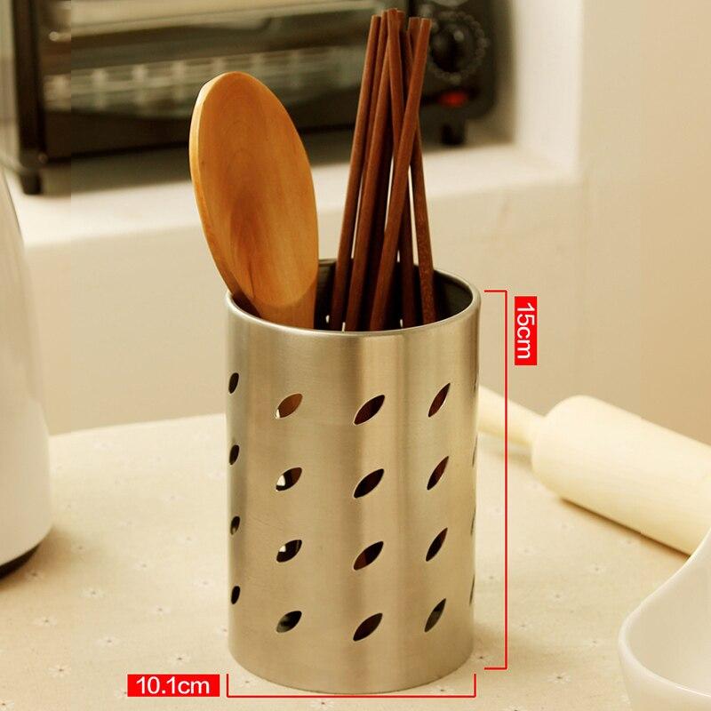 ORZ cocina palillos jaula cucharas cubertería contenedor vajilla escurridor  pala cuchillo tenedor caja de almacenamiento organizador cesta en Bolsas y  ... ba6d7badb7f9