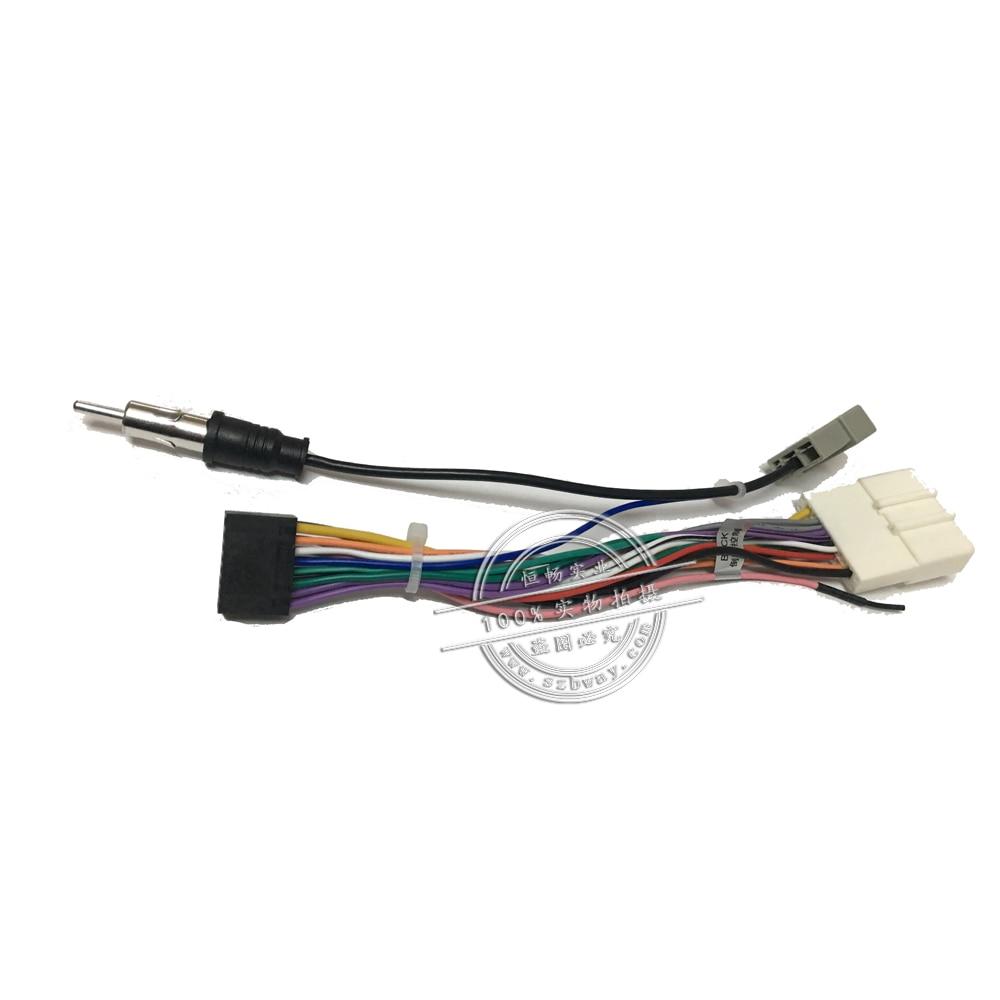 Autórádió sztereó női ISO dugó tápegység kábelköteg - Autóelektronika - Fénykép 4