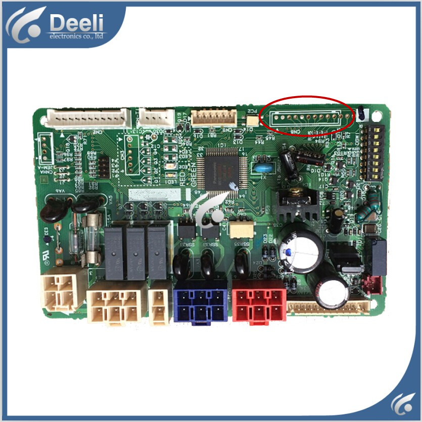 95% new  for air conditioning Computer board A712155 circuit board wire universal board computer board six lines 0040400256 0040400257 used disassemble