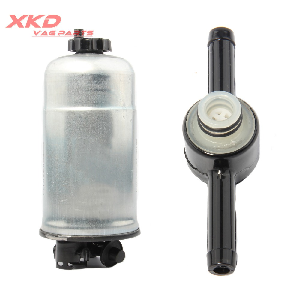For Vw Golf Jetta Mk4 Audi A3 A4 A6 Diesel Fuel Filter Check Valve 2000 Beetle 19tdi 1j0 127 401 A 247 In Filters From Automobiles Motorcycles On