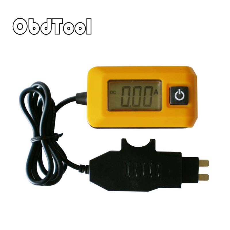 2017 New Auto Current Detector Car Fuse Current Meter Car Leakage Tester Dark Current Detector LR10