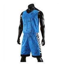 Мужские костюм для баскетбола наборы униформы комплекты детская спортивная одежда для мальчиков дышащие Молодежные тренировочный баскетбольный мяч Майки Шорты