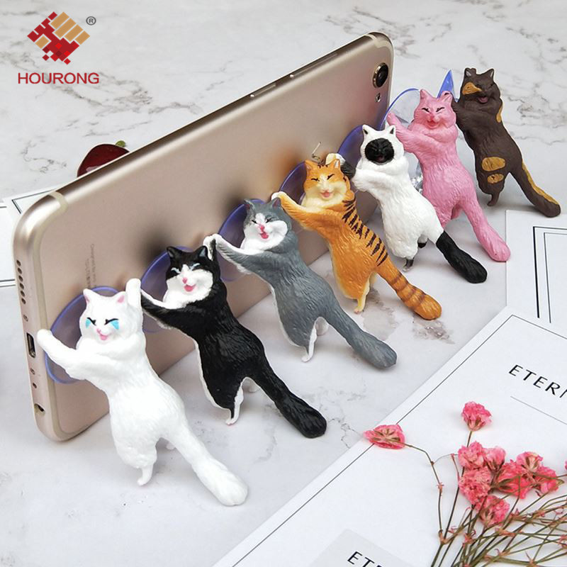 1pc Gift Cute Cat Phone Holder Stand - Universal Stand For $4.99 Wow