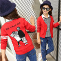 Girl Cardigan Loose Coat Spring And Autumn Fund Long Sleeve Pattern Princess House Children's Garment Child