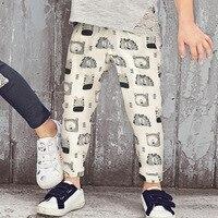 SAIID KOBEISY Winter Baby Pants Cartoon Pattern Kids Boys Girls Trousers Casual Children S Sports