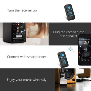 Image 4 - 3 In 1 Wireless Bluetooth Audio Receiver For mercedes bmw x1 subaru mitsubishi asx bmw f30 honda crv dodge charger hummer h2