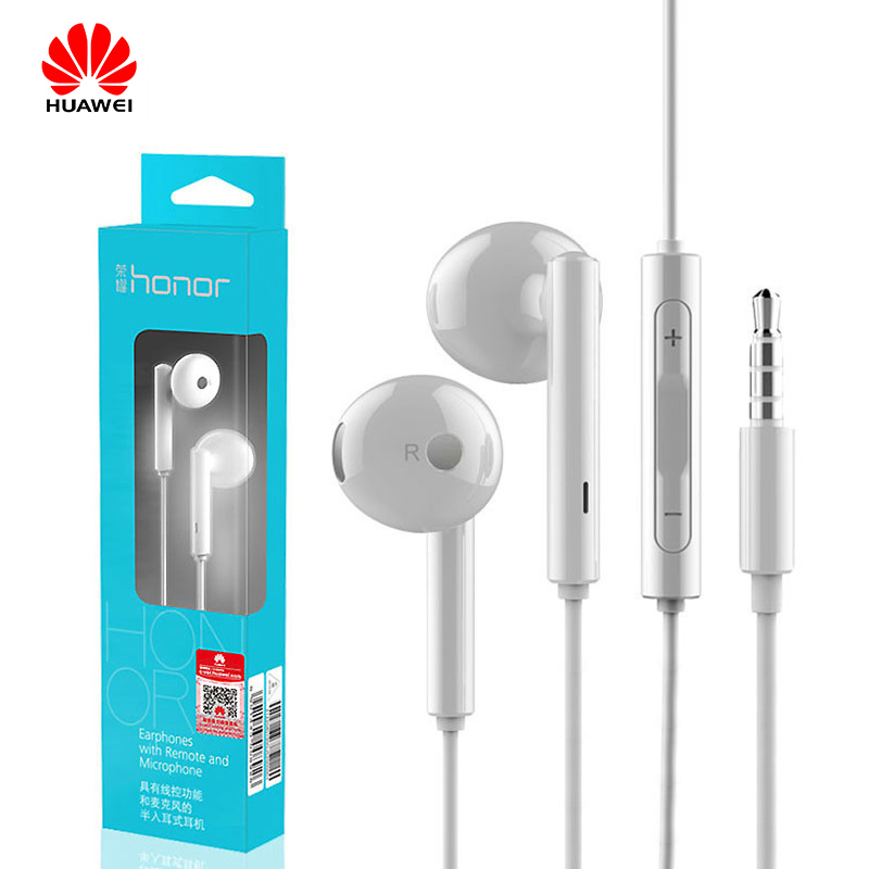 Huawei Honor AM115 Earphone With Speaker Wired Controller 3.5mm Plug In Ear Headset For Huawei P10 P9 P8 Mate9 Honor 8