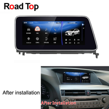 10.25 inch Display Android Car Radio WiFi GPS Navigation Bluetooth Head Unit Touch Screen for Lexus RX 2010-2015 270 350 450h