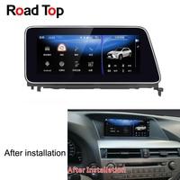 2010 дюймов дисплей Android автомобильный Радио WiFi gps навигация Bluetooth головное устройство сенсорный экран для Lexus RX 270 2015 350 450 10,25 h