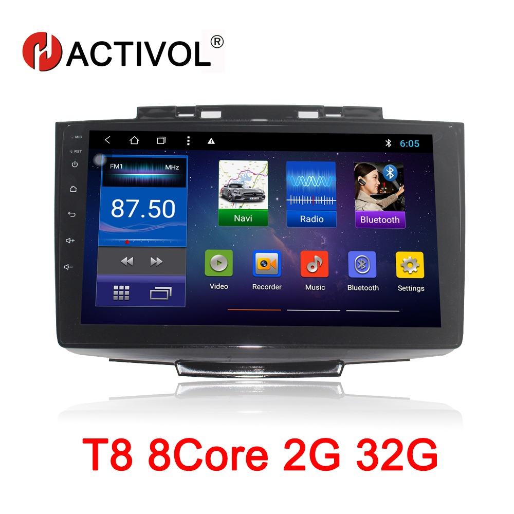 HACTIVOL Octa Core 2G RAM 32G Car radio for Greatwall Hover H5 2013 2016 Android 8