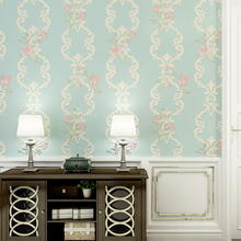 купить PAYSOTA 3D Embossed Wallpaper  European Style Non-woven Fabric Living Room  Wall Paper Roll  по цене 2206.91 рублей