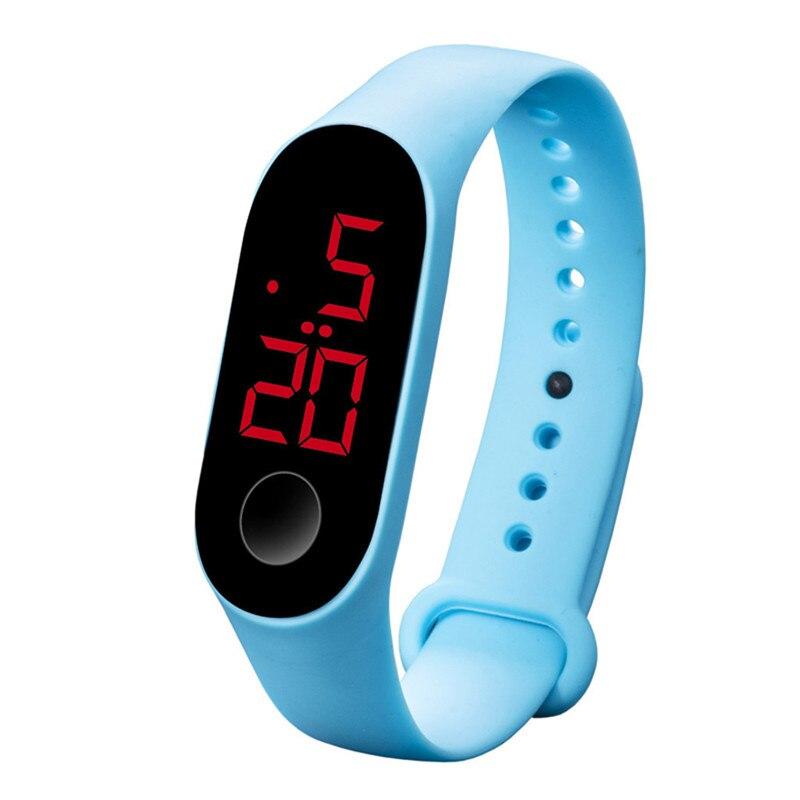 LED Electronic Sports Luminous Sensor Watches Fashion Men And Women Watches Man Woman Casual Watch Clock Digital Lovers' Watch 3
