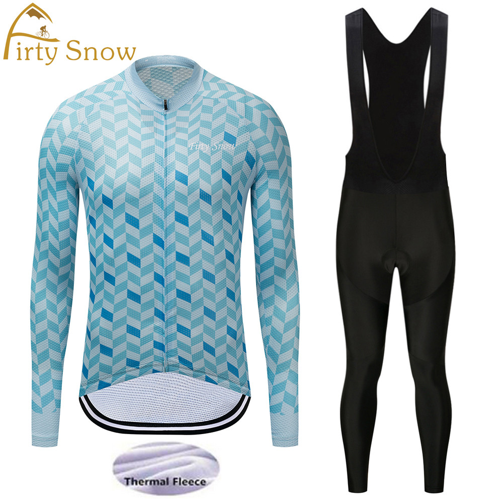 2018winter thermal fleece cycling jersey set long sleeve mountain bike jersey and bib shorts set gel pad cycling bib sets men xintown men s outdoor cycling jersey sets bib shorts sport short sleeve cycling jersey mountain bike clothing wear suit