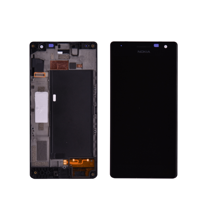 100% Original For Nokia Lumia 730 735 LCD Display with Touch Screen Digitizer Assembly with Frame  free shipping100% Original For Nokia Lumia 730 735 LCD Display with Touch Screen Digitizer Assembly with Frame  free shipping