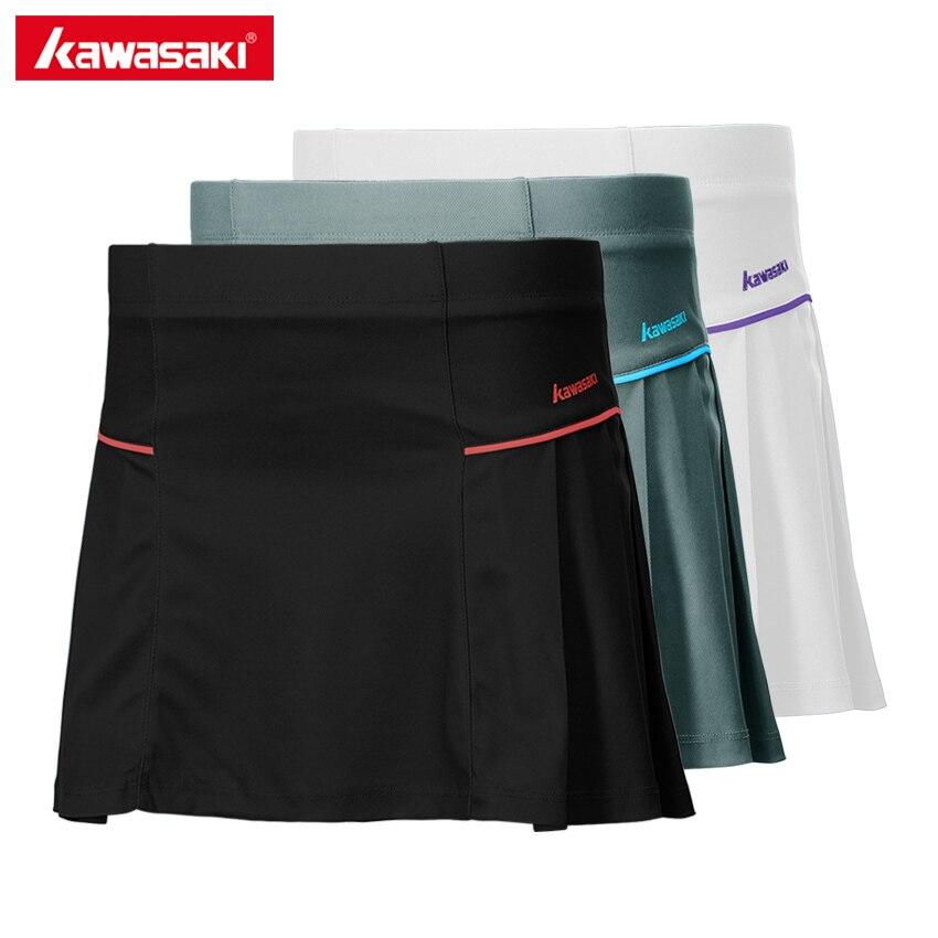 2017 מותג קוואסאקי עבור נערות 100% פוליאסטר סרוג טניס בדמינטון בגדי ספורט מכנסיים Skorts עם בטיחות SK-172707