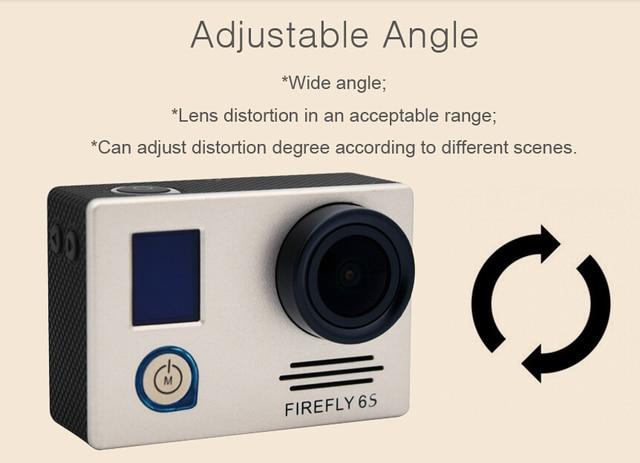 free shipping Hawkeye Firefly 6S 4K Sport FHD DV  16M CMOS WiFi Stabilization Waterproof Camera FPV