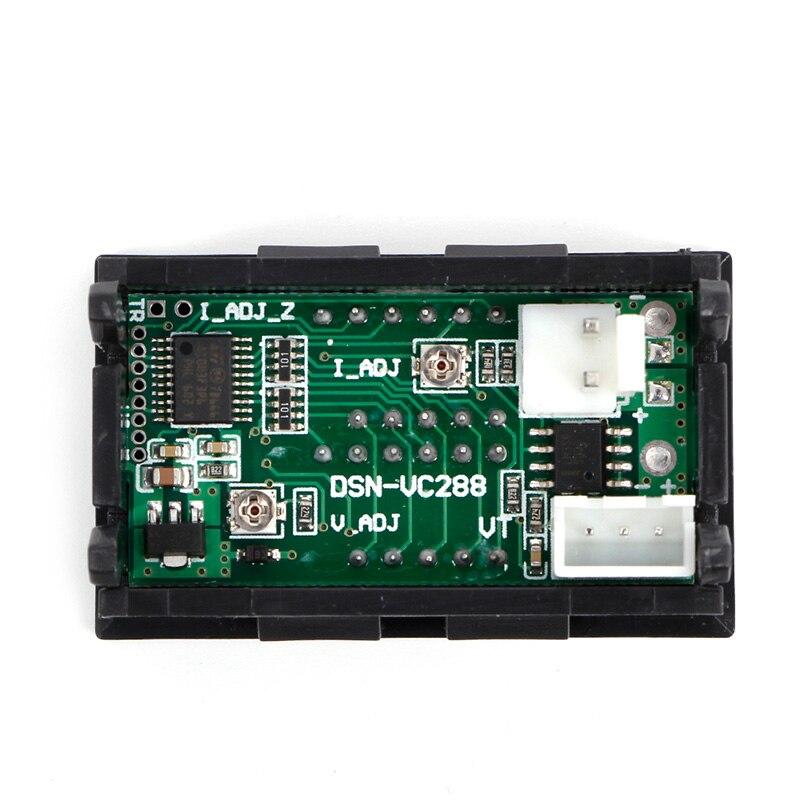 Measurement & Analysis Instruments Instrument Parts & Accessories 2in1 Digital Tester Dc 0 ~100v/50a Voltmeter Ammeter Red Led Display Volt Amp Meter Dc 12v 24v Panel Meter With Resistive Shunt