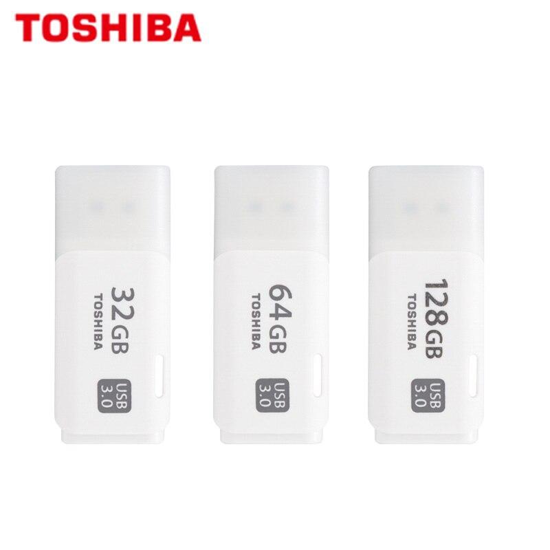 100% Original Toshiba U301 USB Flash Drive High Speed Memory Stick 32GB 64GB USB 3.0 Pendrive 128GB Mini U Disk