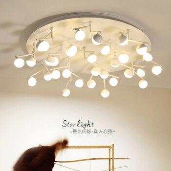 ポストモダンledリビングルーム天井灯ノベルティ器具寝室の天井照明北欧照明ロフト天井ライト