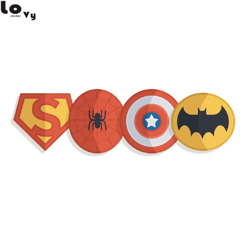 Batman Logo Superhero Vinyl Wall Art Sticker Decal Silhouette MATT Vinyl