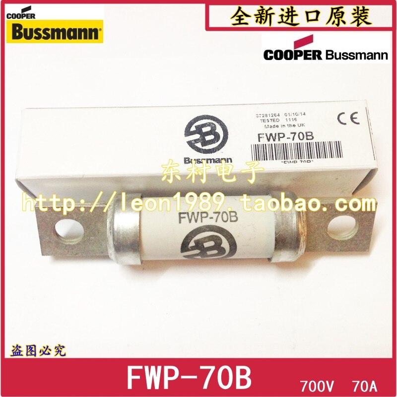 цена на [SA]Original US Bussmann Fuses FWP-60B 60A FWP-70B 70A 700V 200Ka