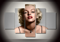2016 Paintings Wall Art Framed Printed Marilyn Monroe Group Painting Children S Room Decor Print Picture