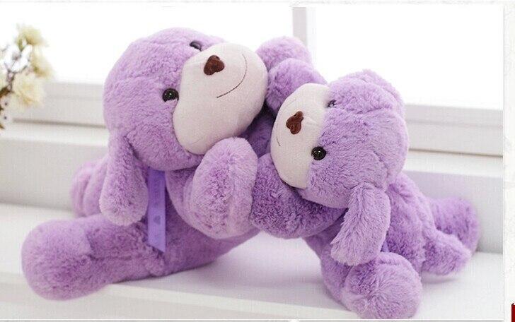 stuffed animal 70 cm  lavender teddy bear fresh scent lying bear plush toy soft doll w1986 new creative plush bear toy cute lying bow teddy bear doll gift about 50cm
