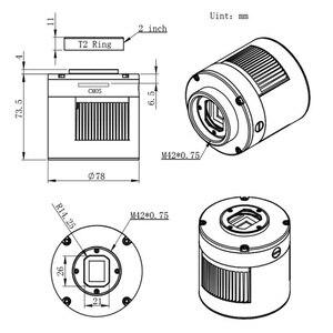 Image 3 - ZWO ASI294MC Pro, tampon DDR refroidi Camera 256MB, en couleur