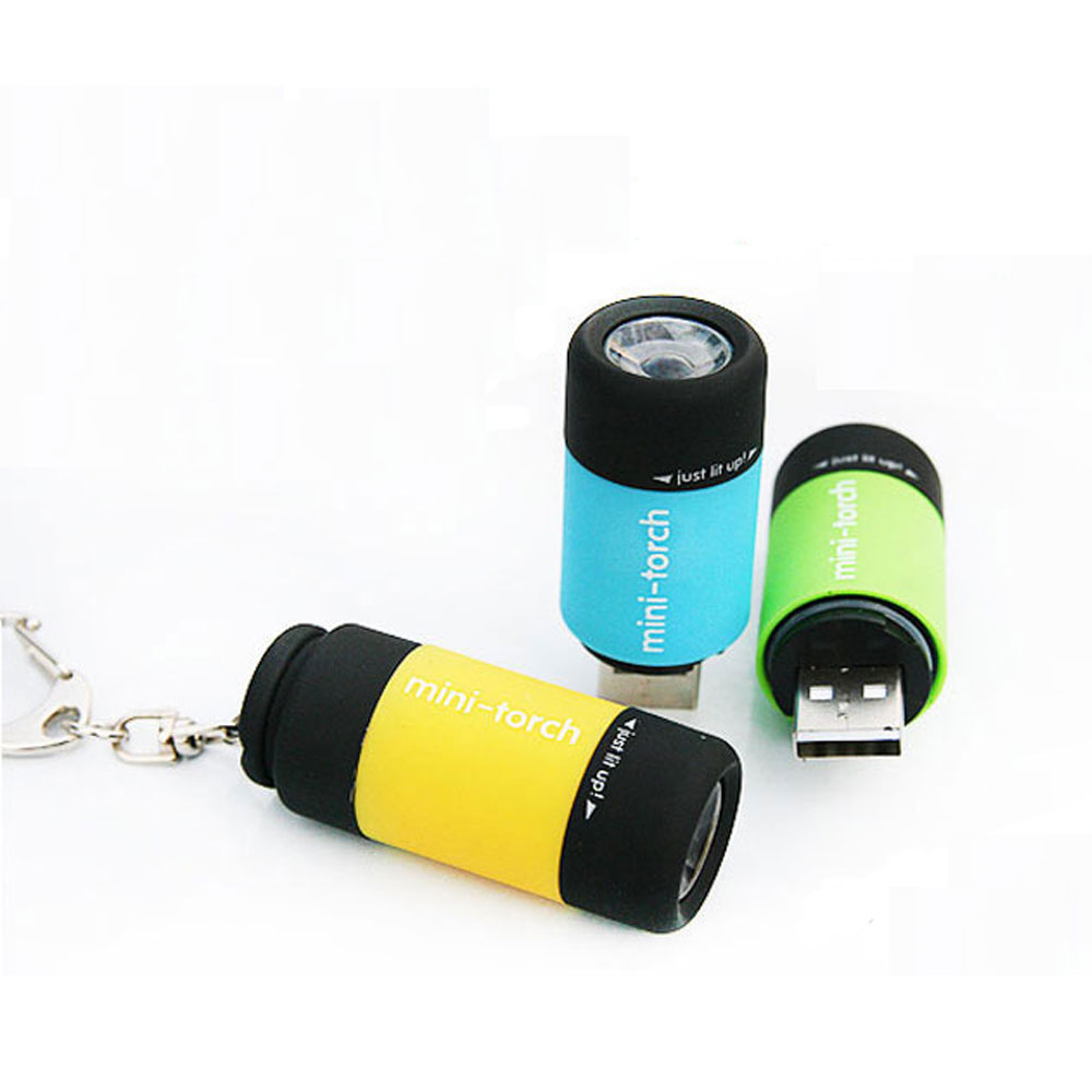 KHLITEC-LED-Mini-Torch-0.3W-25Lum-USB-Rechargeable-LED-Torch-Lamp-Keychain-mini-torch-bright-light-2018-led-flashlight5