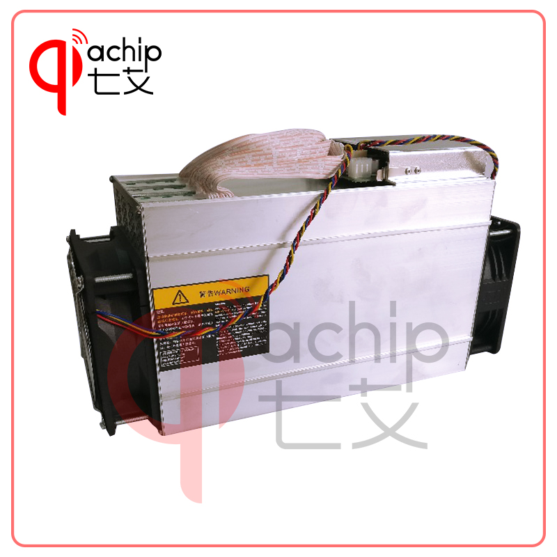 QiaChip Brand New ANTMINER L3+ LTC 504M (with psu) scrypt miner LTC Mining Machine 504M 800W on wall Better Than ANTMINER L3