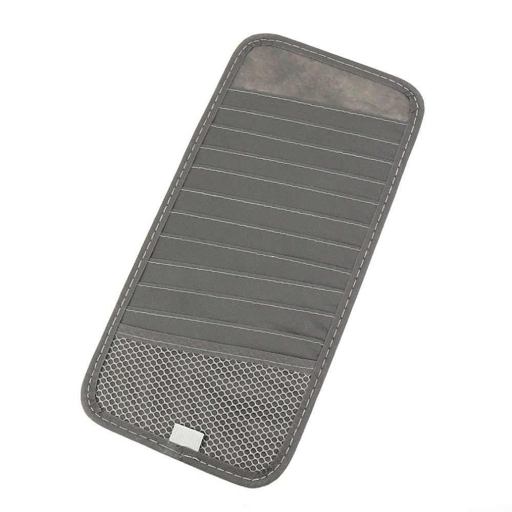 Top Qualität Auto Sonnenblende Glas Stift CD DVD Karte Fall mit Tissue Box Multifunktionale Lagerung Halter Clip Tasche