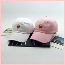Gorras-Sale-New-2018-Korea-Ulzzang-Harajuku-Cute-Embroidery-French-Fries-Snapback-Cap-For-And-Baseball