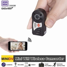 TANGMI Q7 Mini Camera Wifi DVR DV Wireless Secret Camcorder Video Recorder Infrared Night Vision And Motion Detection Micro Cam
