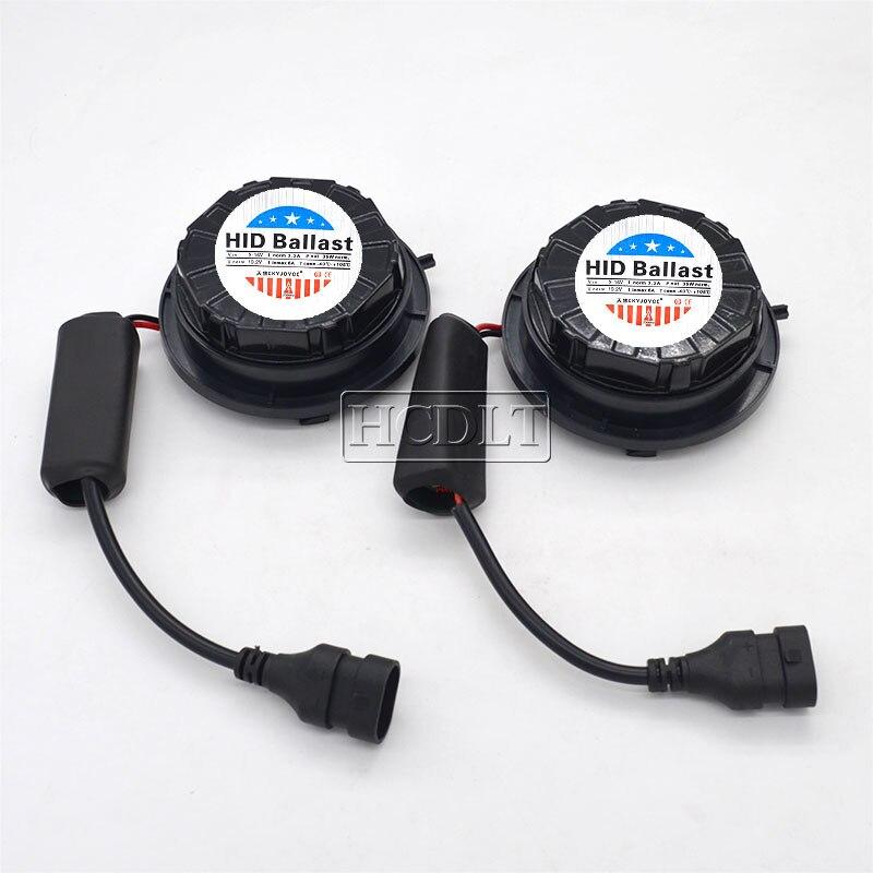 HCDLT Car Headlight Xenon 9012 HIR2 HID Kit 35W 9012 6000K HiLo Bixenon No Error Canbus Car Light Bulb Kit For IX35 2014-2016 (3)