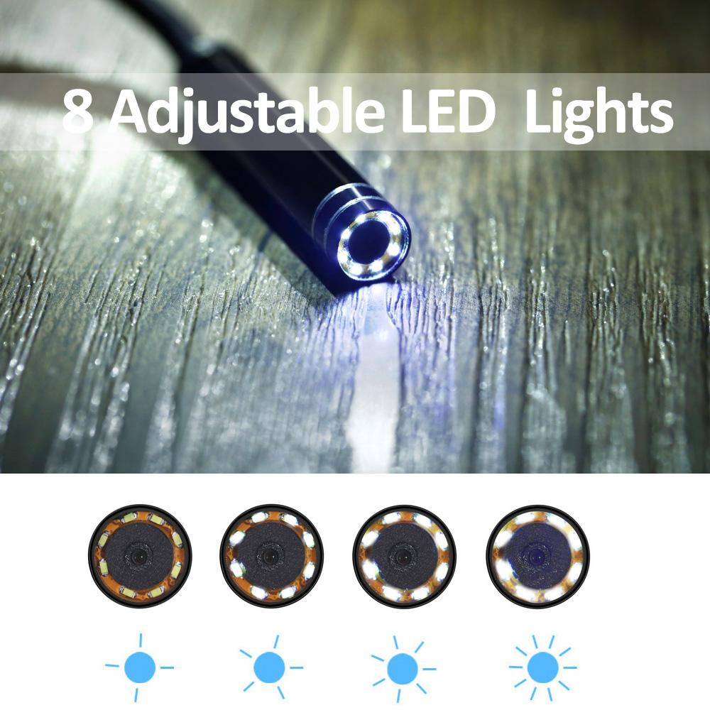 LED A