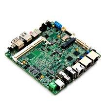 Недорогой процессор Intel Baytail J1900, материнская плата, двойной гигабитный Ethernet-экран 3 * USB2.0 4 Гб ОЗУ, материнская плата
