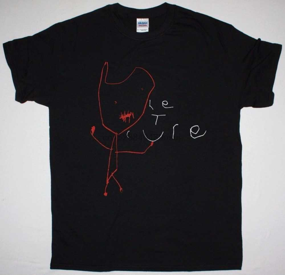 THE CURE MONSTER BLACK T SHIRT THE CURE 2004 ROBERT SMITH SIOUXSIE BAUHAUS Summer Short Sleeves Cotton T-Shirt Fashion