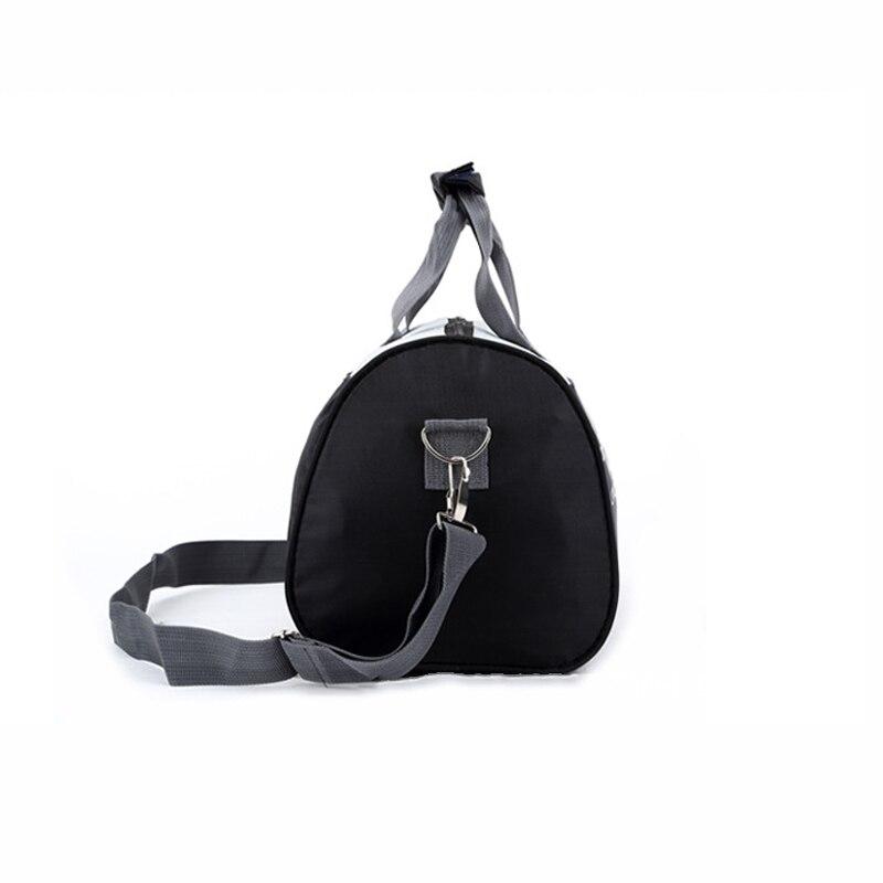 Женская и Мужская спортивная сумка для фитнеса, баскетбола, футбола, тренировок, тренажерного зала, бега, кемпинга, Холщовая Сумка на одно плечо, дорожные спортивные сумки-3